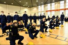 哈尔滨消防救援支队召开2021年度新入职专职消防员定岗